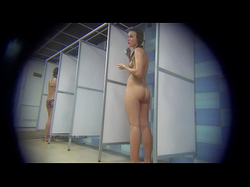 Real voyeur videos from a public showers's Thumb