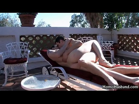 Dustin and joey outdoor fucking