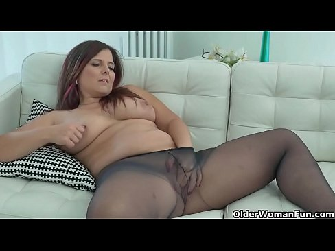 Full figured and well rounded milf Montse Swinger from Spain needs to fulfill her sexual cravings with a dildo. Bonus video: Euro milf Riona.