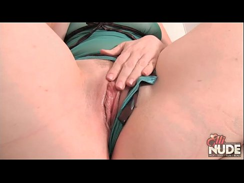 cover video redhead elli shows you how she likes to get fucked with glass dildo