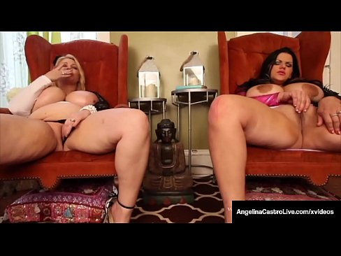 Clip sex BBWs Angelina Castro & Samantha 38G Have Huge Ass Boobs!