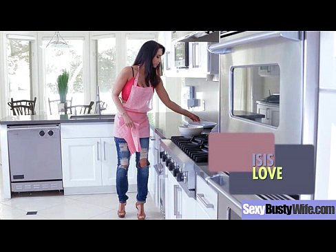 (Isis Love) Lovely Horny Housewife With Bigtits Like  Hardcore Sex clip-13