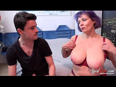 AgedLovE Cock Sucking and Tit Play in hardcore vid