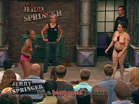 Apologise, best jerry springer girls naked what here