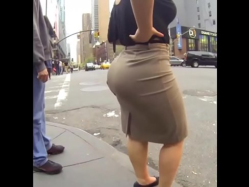 Big Candid Booty Walking