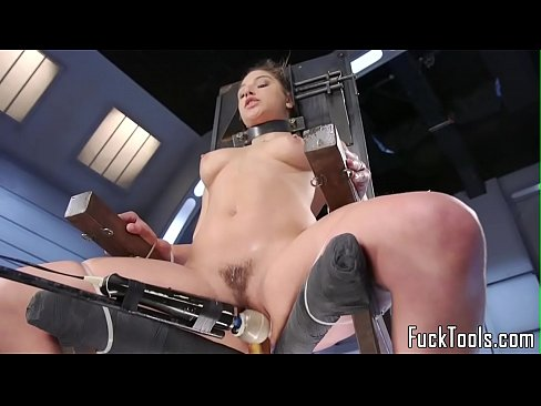 cover video babe restrained to chair for pussy toying