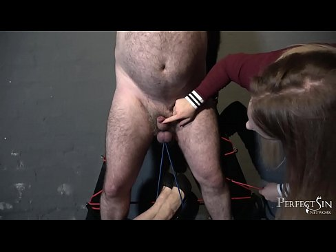 Swing For Mistresses' Feet - Hairy Furniture for Miss Hunter and Miss Jessica Wood