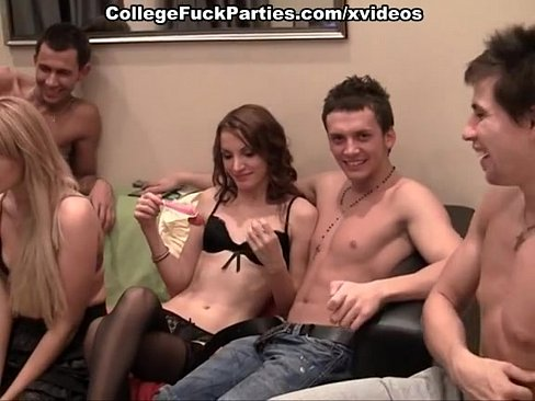 Amateur orgy of russian students