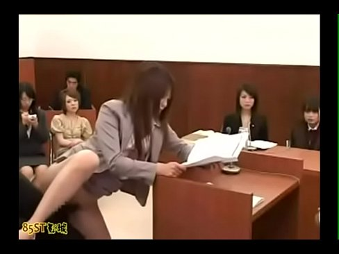 Invisible man in asian courtroom - Title Please's Thumb