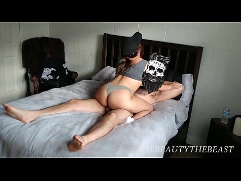 Neighbor's Young Daughter Sucks & Rides My Cock