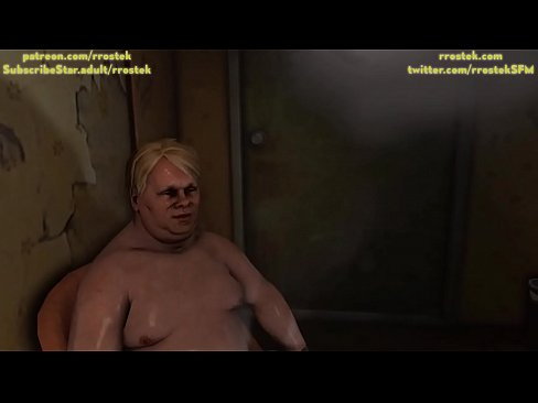 Lulu providing escorts services to multiple depraved men inside a shady hotel room 3D Animation