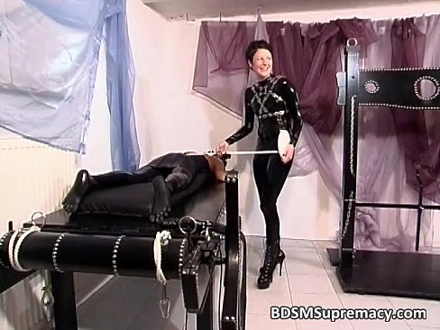 Two chicks in rubber have fun with sex