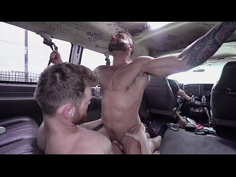 BAIT BUS - Straight Hunk Eddy Ceetee Takes Jacob Peterson's Big Dick Up His Ass For The Promise Of Money