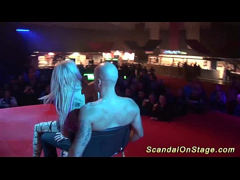 Clip sex scandal on public stage
