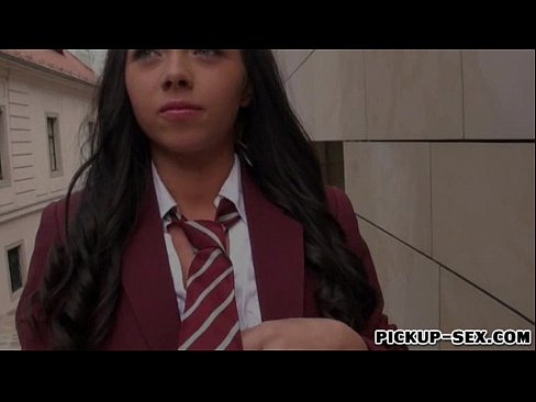 Pretty schoolgirl Tricia Teen fucked in exchange for cash