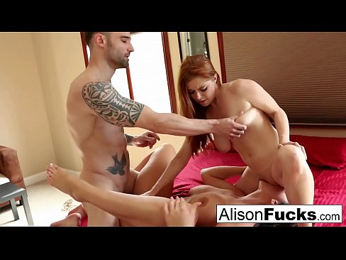 Threeway bound and spanked with Alison Tyler, Penny and Alex