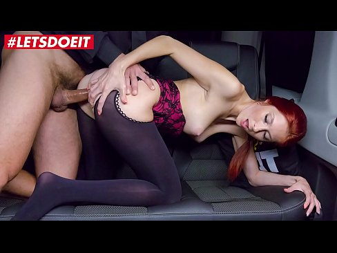 VIP SEX VAULT  - Czech RedHead is Abused in the BackSeat (Kattie Gold)