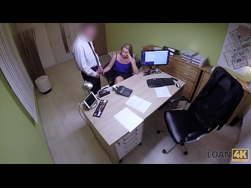 Clip sex LOAN4K. Teen girl cant pay for education so why seduces loan agent