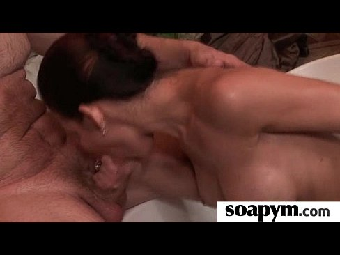AMAZING body in a hot soapy massage 20