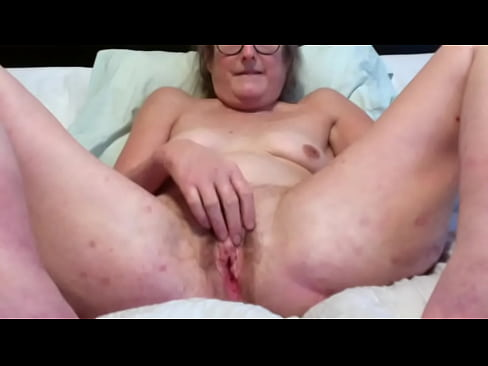 Brunette Milf Fingers And Rubs Pussy While Her Clit Gets Hard