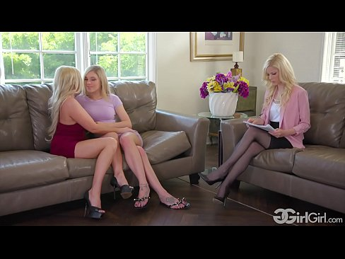 GirlGirl.com - Kali Roses' Stepmother Christie Stevens Fuck The Family Therapist Charlotte Stokely