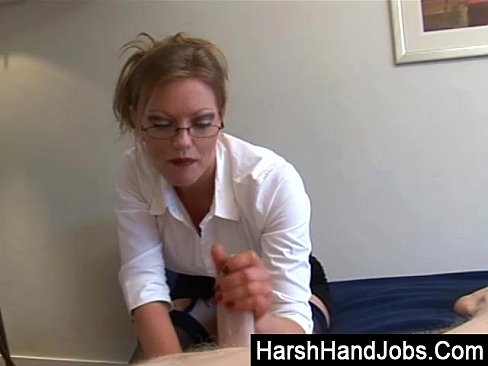 Harsh hand jobs