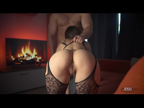 Brunette step sister with tight pussy rides step bro hard cock