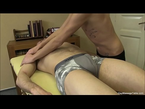 Two Gay Studs Gives A Killer Massage