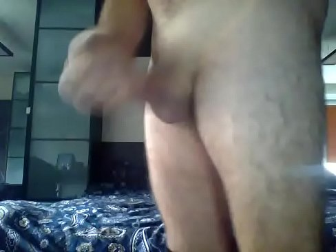 Moscow Masturbation Solo Big Dick Two Hands Horny Home