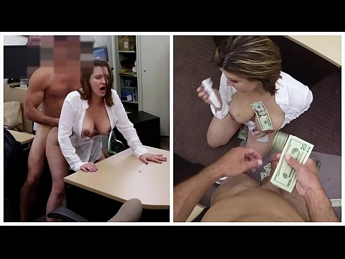 XXX PAWN - Some Guy's Wife Fucks A Stranger For $900 In A Dank Back Room