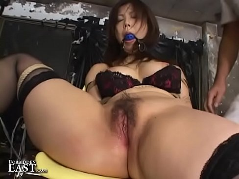 Asian Submissive Bound And Gagged On Chair For Kink Fetish Action's Thumb