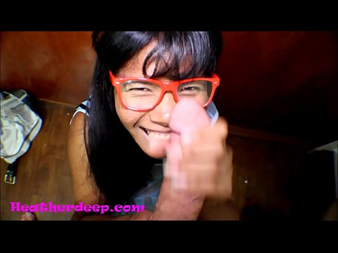 HD Heather Deep gets it in the ass and pussy and cum on glasses's Thumb