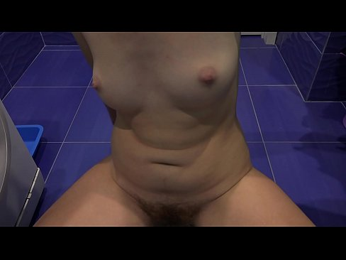 Clip sex Verbal domination with saliva, foot fetish, very hairy pussy and juicy booty. Naked mistress loves to tease close up.
