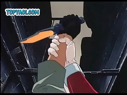 A tall blonde anime hero rescues young gay from the fight and takes him home and there slowly... Watch FULL VIDEO on AnimeHentaiHub Com