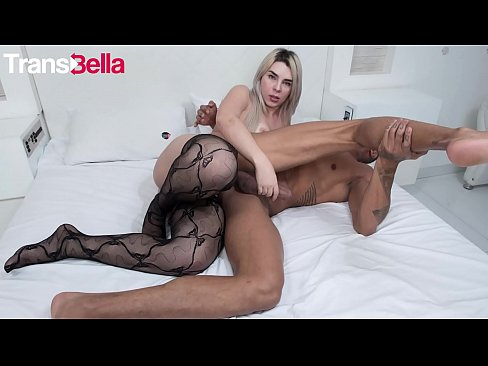 TRANS TABOO - #Carol Penelope - Hot Flip Flop Action With A Sexy Big Ass TGirl