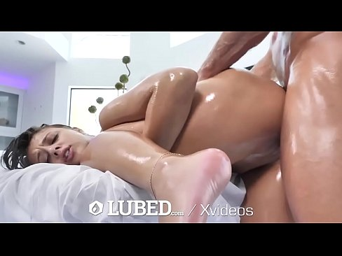 LUBED Slippery Bouncing Booty Fucked By Big Dick