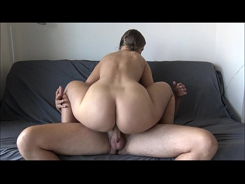 sexy brunette fuck and creampie pussy