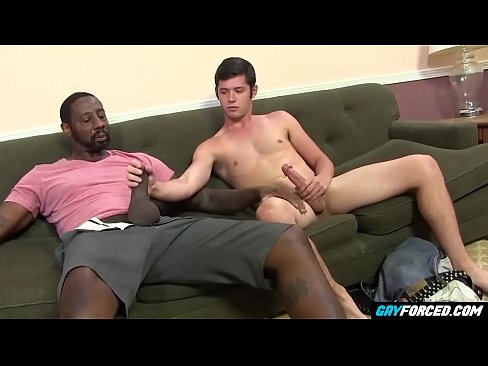 Bubble Butt Twink Punished by Large Black Dick - GayForced.com