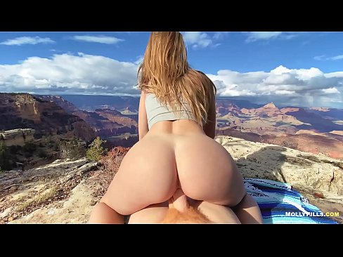 EPIC Grand Canyon Adventure Sex - Molly Pills - Public Nature Creampie POV