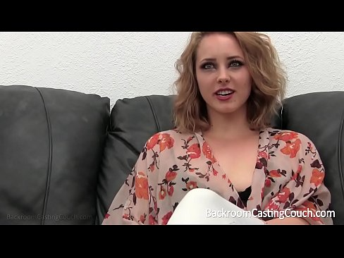 cover video blonde stripper first anal on casting couch