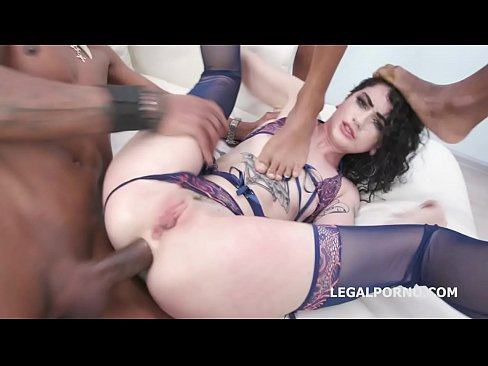 Clip sex Black Manhandle, Lydia Black Vs 4 BBC, with Manhandle, Balls Deep Anal, Gapes and Facial GIO1277