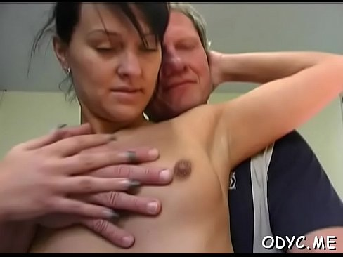 Enchanting pussy is fondled