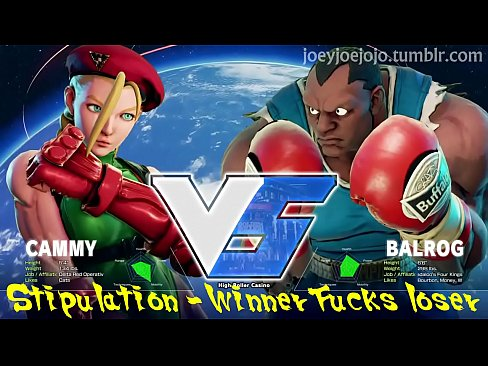 Street Fucker – Cammy vs. Balrog