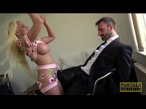 PASCALSSUBSLUTS - Cindy Sun Humiliated By Masters Big Cock