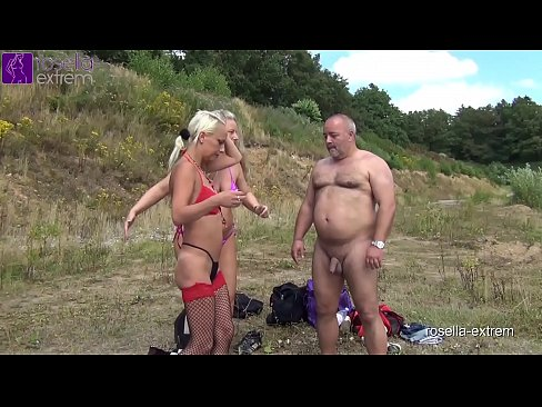 2 blondes, while sunbathing, used by a men group dirty, fucked, inseminated and abused as a cum and piss loo! Chapter 1