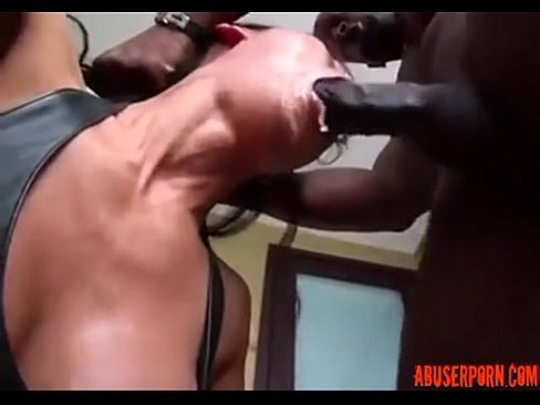 Asian milf interracial rough throat fucking porn