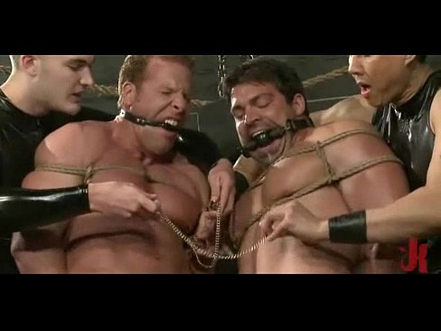 Gay guys with leish fucked in rough sex