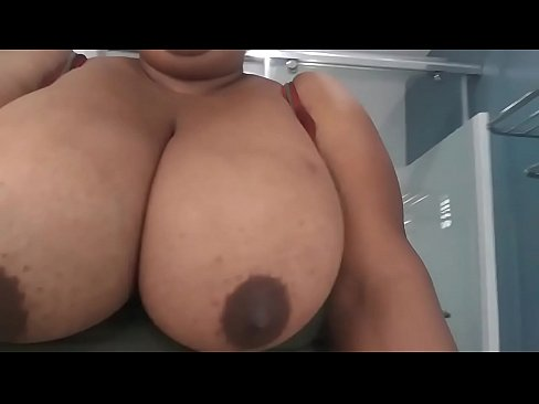 My wife Peaches showing off them big tits again