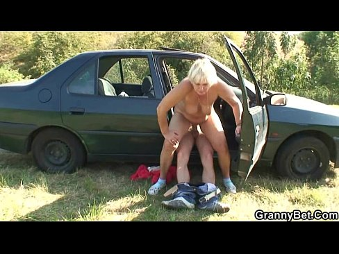 Hitchhiking chubby picked up and fucked 3