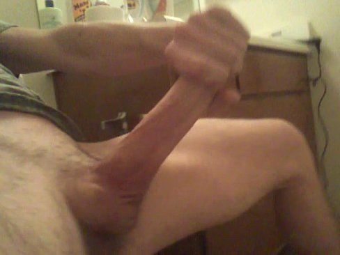 Cumming on big dick
